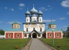 Le monastère de Tikchvin. Photographie stock