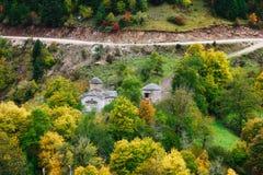 Le monastère de Vierge Marie d'Aspropotamos image libre de droits