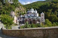 Le monastère du saint Joachim d'Osogovo Photographie stock libre de droits