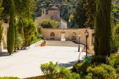 Le monastère du saint Neophytos Photos stock