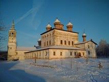 Le monastère orthodoxe abandonné images libres de droits