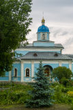 Le monastère orthodoxe de Vvedenskaya Optina Pustyn dans la région de Kaluga de la Russie Image stock