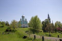 Le monastère orthodoxe des femmes images stock