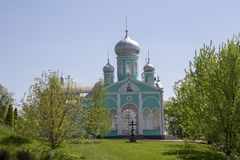 Le monastère orthodoxe des femmes photographie stock libre de droits