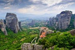 Le monastère saint de Rousanou Image stock