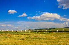 Le monast?re ?tonnant d'Erdene Zuu, Mongolie photo stock