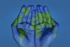 Le monde dans des vos mains illustration stock