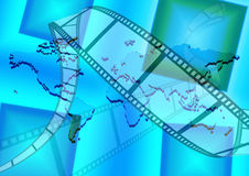 Le monde de film Photos libres de droits
