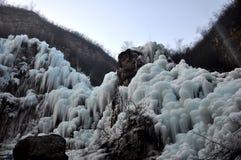 Le monde de glace Photographie stock