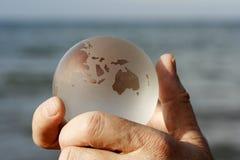Le monde est votre huître Images libres de droits