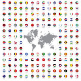 Le monde marque tous Photographie stock libre de droits