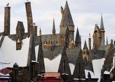 Le monde wizarding de Harry Potter Photographie stock libre de droits