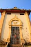 Le mondop de seigneur Bouddha dans la province d'Ayutthaya Image libre de droits