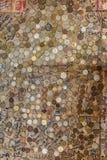 Le monete nel pub alla montagna di Sani alloggiano Fotografia Stock