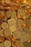 Le monete si diffondono Immagine Stock Libera da Diritti