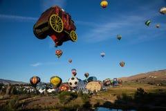 Le mongolfiere tolgono a Reno, Nevada Fotografia Stock Libera da Diritti
