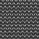 Le monochrome abstrait ondule le fond sans couture de modèle Vecteur illustration de vecteur