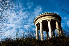 Le Monopteros dans Englischer Garten Image libre de droits