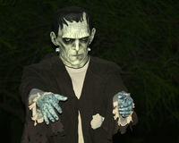 Le monstre d'un Frankenstein Images libres de droits
