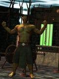 Le monstre de Frankenstein Images libres de droits