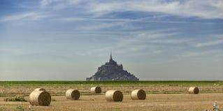 Le Mont Święty Michele Zdjęcia Royalty Free