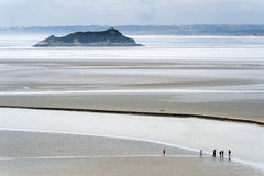 LE mont Άγιος Michel Στοκ Εικόνες