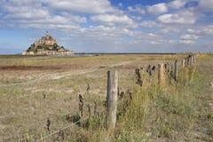 Le Mont Святой Мишель в Нормандии, Франции стоковое изображение