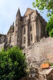 Le Mont Святой Мишель, Бретань, Франция Стоковая Фотография RF