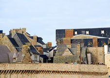 Le Mont Святой Мишель в Нормандии, Франции Стоковые Фото
