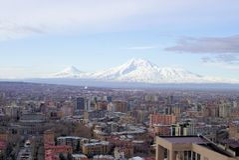 Le mont Ararat biblique photo libre de droits