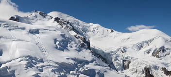 Le Mont Blanc Royalty Free Stock Photos