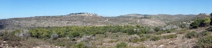 Le mont Carmel images libres de droits