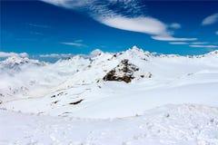 Le mont Elbrouz Caucase Photos libres de droits