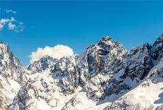 Le mont Elbrouz Caucase Images stock