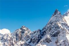 Le mont Elbrouz Caucase Photographie stock