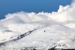 Le mont Etna (volcan) Photographie stock libre de droits