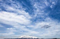 Le mont Etna (volcan) Images libres de droits