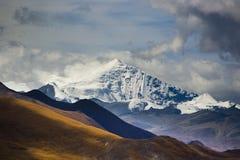 Le mont Everest images libres de droits