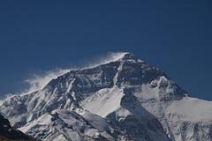 Le mont Everest du camp de base au Thibet B Photographie stock