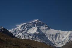 Le mont Everest du camp de base au Thibet C Photos libres de droits