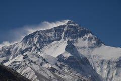 Le mont Everest du camp de base au Thibet D Photos stock