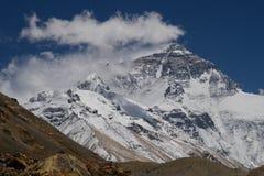 Le mont Everest du camp de base au Thibet F Photo stock