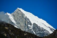 Le mont Everest et Katmandou Images libres de droits