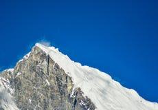 Le mont Everest et Katmandou Image libre de droits