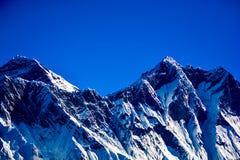 Le mont Everest et Katmandou Photos stock
