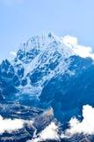Le mont Everest et Katmandou Image stock