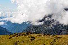 Le mont Everest et Katmandou Photo libre de droits