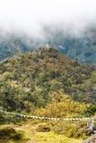 Le mont Everest et Katmandou Photo stock