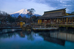 Le mont Fuji Photo stock