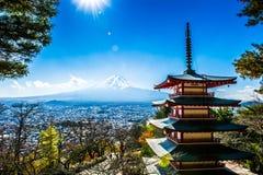 Le mont Fuji Image libre de droits